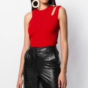 🔥SALE DKNY red knit tank top